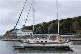 BANJER 37 EISTA Ketch hollandais occasion � vendre visible BRETAGNE